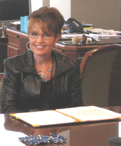 Alaska Governor Sarah Palin, at bill signing ceremony for SB 69.