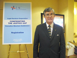 John T. Broderick, Jr., New Hampshire Supreme Court Chief Justice and former LSC Board Member.