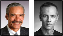 LSC Board Members Robert J. Grey Jr. (left) and Victor Maddox will lead the task force.