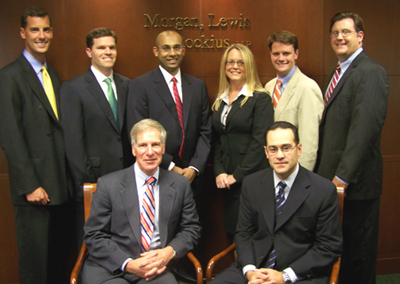 Attorneys with the law firm of Morgan, Lewis & Bockius, who helped spearhead SJLS' Medical-Legal Partnership, and have been crucial to its success.