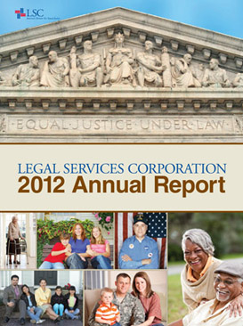 LSC 2012 Annual Report Cover