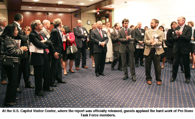 Video and Photo Gallery of the Release of the Pro Bono ...