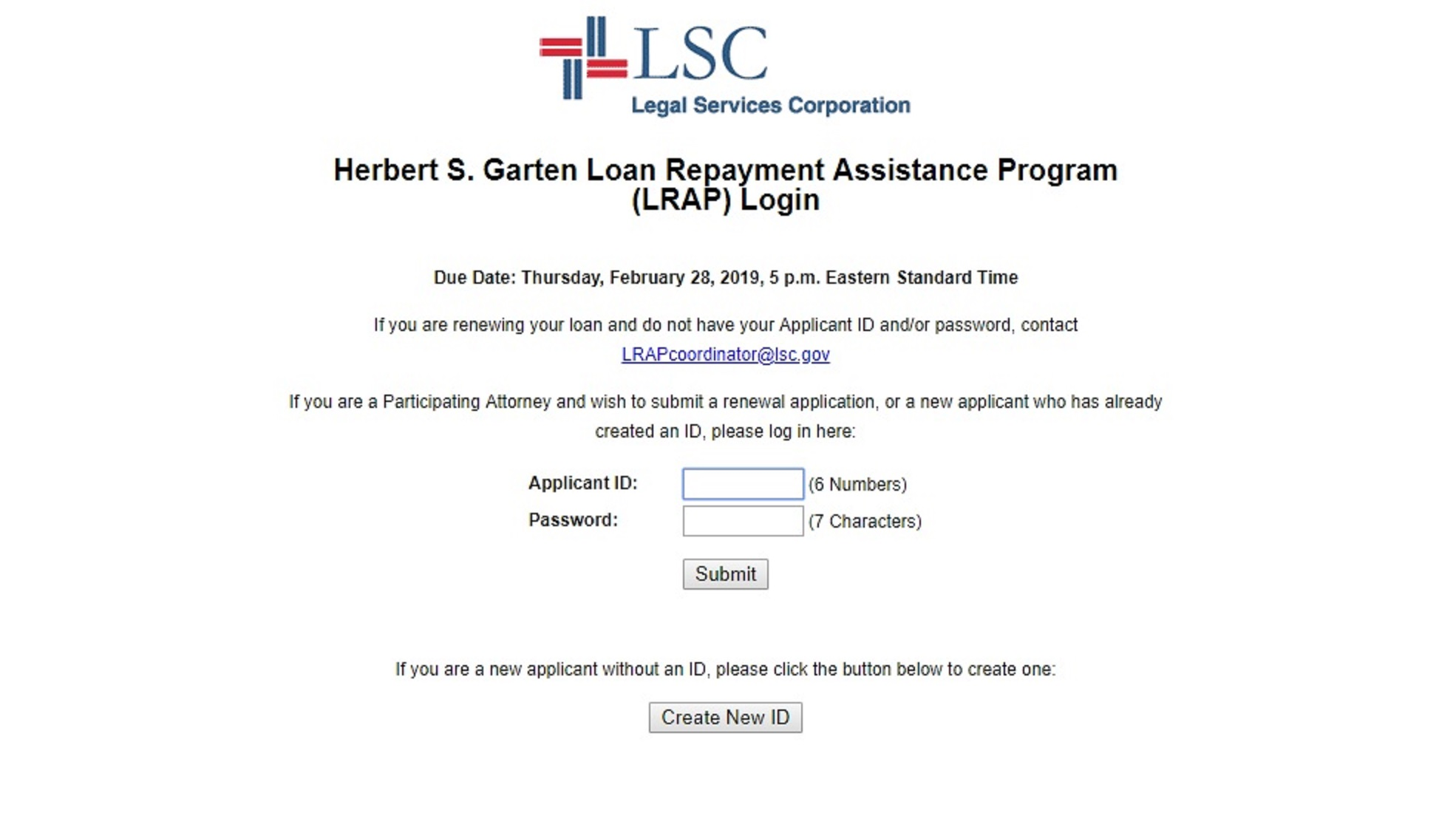 How to Apply | LSC - Legal Services Corporation: America's Partner