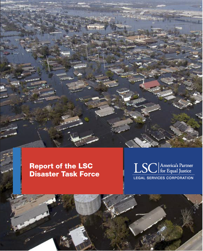 DisasterTask Force Report