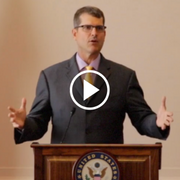 LSC Leaders Council Member Jim Harbaugh on Justice Gap Report