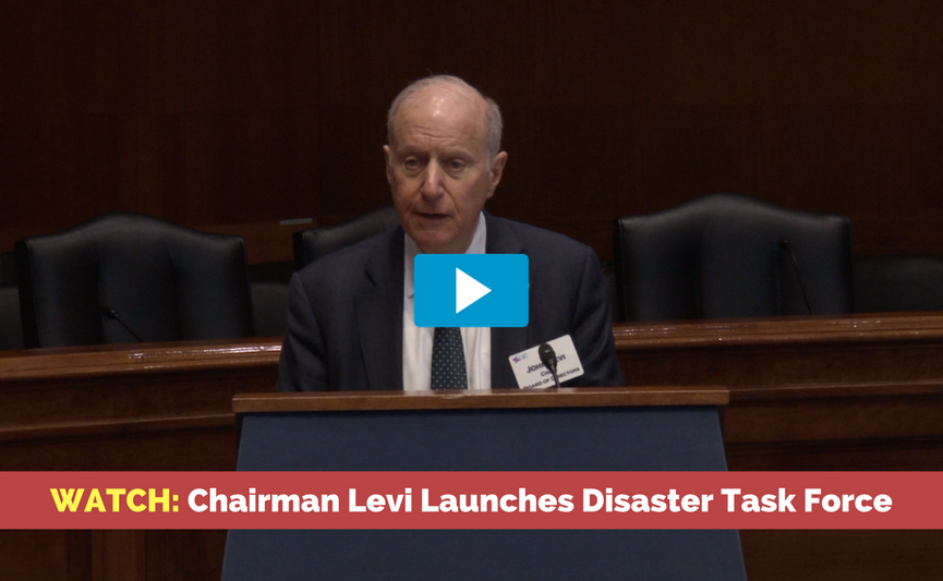 Watch: Chairman Levi Launches Disaster Task Force