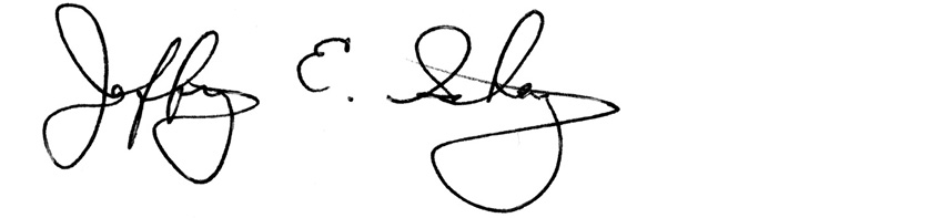 Jeffrey Schanz Signature