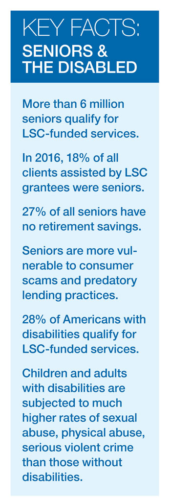 Key Facts Seniors and Disabled